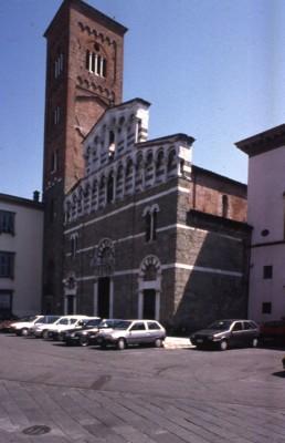San Pietro Somaldi in Lucca, Italy