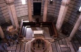 Baptistry (Pisa) in Pisa, Italy by architect Diotisalvi