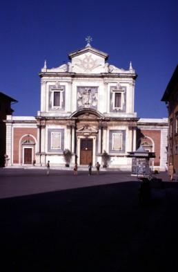 Santo Stefano in Pisa, Italy by architect Giorgio Vasari