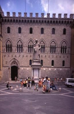 Palazzo Salimbeni in Siena, Italy