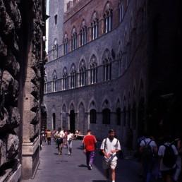 Palazzo Chigi-Saracini (Palazzo delle Papesse) in Siena, Italy