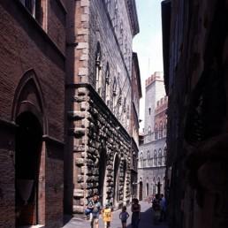 Palazzo Piccolomini in Siena, Italy by architect Bernardo Rossellino