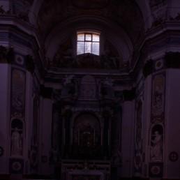 Sanctuary of the Cross (Sanctuario del Crocifisso) in San Miniato, Italy by architect Michellozzo