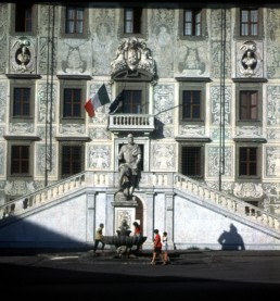 Palazzo dei Cavalieri in Pisa, Italy by architect Giorgio Vasari
