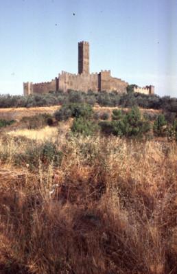 Montecchio Castle in Castiglione Fiorentino, Italy