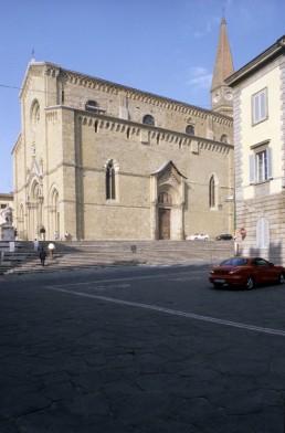 Arezzo Cathedral in Arezzo, Italy