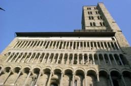 Santa Maria della Pieve in Arezzo, Italy