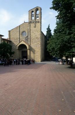 San Domenico in Arezzo, Italy