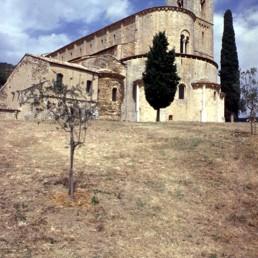 St. Antimo's Abbey (Abbazia di Sant'Antimo) in Castelnuovo Dell' Abate, Italy