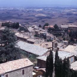 Montalcino in Montalcino, Italy