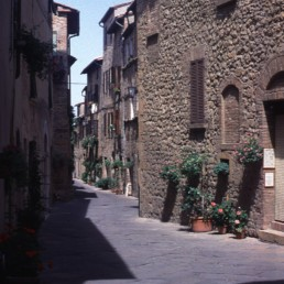 San Quirico D'Orcia in San Quirico D'Orcia, Italy