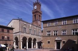 Palazzo Comunale in Pienza, Italy