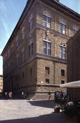 Palazzo Piccolomini in Pienza, Italy