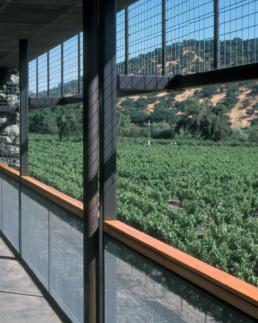 DETAIL Larry Speck Herzog de Meuron Dominus Winery Napa Valley CaliforniaDETAIL Larry Speck Herzog de Meuron Dominus Winery Napa Valley California