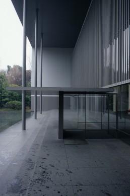 The Gallery of Horyuji Treasures in Tokyo, Japan by architect Yoshio Taniguchi