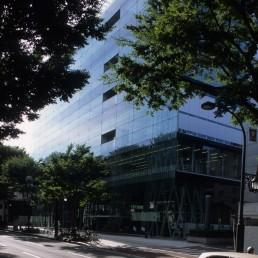 Sendai Mediatheque in Sendai, Japan by architect Toyo Ito