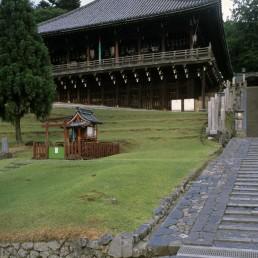 Nigatsu-do in Nara, Japan