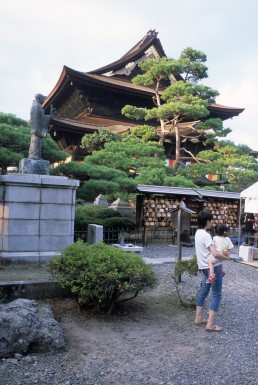 Zenko-ji in Nagano, Japan