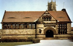 Crane Memorial Library in Quincy, Massechusetts by architect Henry Hobson Richardson