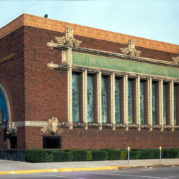 People's Savings and Loan Association Bank in Sidney, Ohio by architect Louis Sullivan