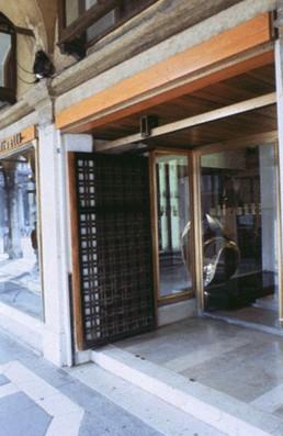 Olivetti Showroom in Venice, Italy by architect Carlo Scarpa