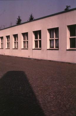 Elementary School in Fagnano Olona, Italy by architect Aldo Rossi