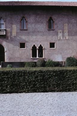 Castel Vecchio Museum in Verona, California by architect Carlo Scarpa