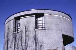 Casa Rotunda in Stabio, Switzerland by architect Mario Botta
