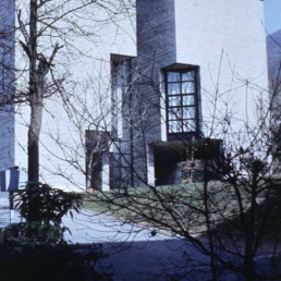 Single Family House in Pergassona, Switzerland by architect Mario Botta