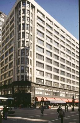 Carson Pirie Scott in Chicago, Illinois by architect Louis Sullivan