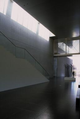 Yoshio Taniguchi Architecture The Marugame Genichiro-Inokuma Museum of Contemporary Art (MIMOCA) Kagawa Japan photograph by Larry Speck