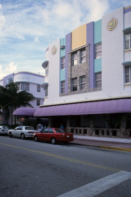 Cardoza Hotel in Miami Beach, Florida by architect Henry Hohauser