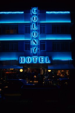 Colony Hotel in Miami Beach, Florida by architect Henry Hohauser
