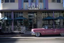 Marlin Hotel in Miami Beach, Florida by architect L. Murray Dixon
