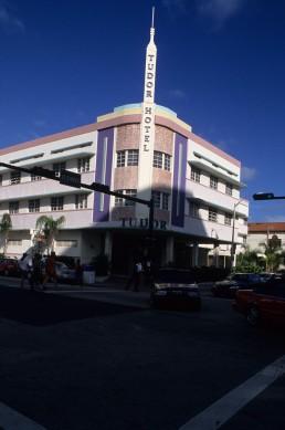 Tudor Hotel in Miami Beach, Florida by architect L. Murray Dixon