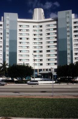 Eden Roc Hotel in Miami Beach, Florida by architect Morris Lapidus