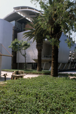 National Center for the Arts, Music Building in Mexico City, Mexico by architect Enrique Norten