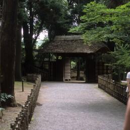 Kairaku-en Garden in Mito, Japan