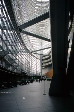 Tokyo International Forum in Tokyo, Japan by architects Rafael Vinoly Architects, raf
