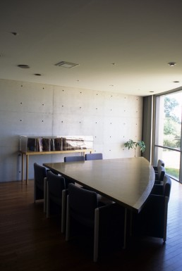 Benesse House in Naoshima, Japan by architect Tadao Ando