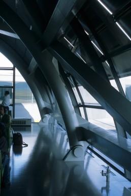 Kansai International Airport in Osaka, Japan by architect Renzo Piano