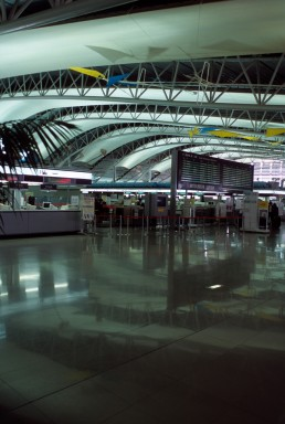 Kansai International Airport in Osaka, Japan by architect Renzo Piano