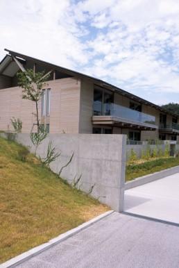 Benesse House in Naoshima, Japan by architect Tadao Ando