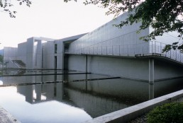 Nariwa Museum in Okayama, Japan by architect Tadao Ando