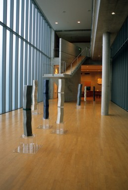 Nariwa Museum in Okayama, Japan by architect Tadao Ando