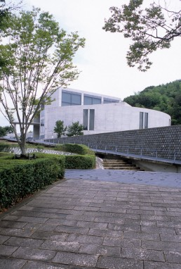 Himeji City Museum of Literature in Himeji, Japan by architect Tadao Ando