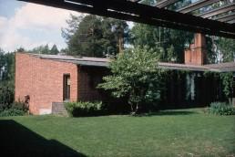 Säynätsalo Town Hall in Saynatsalo, Finland by architect Alvar Aalto