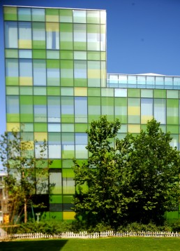 Opposite House in Beijing, China by architect Kengo Kuma