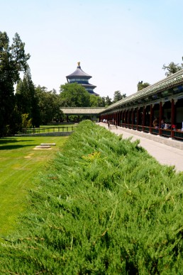 Temple of Heaven in Beijing, China by architect Yongle Emperor