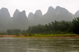 Karst Landscapes in Southern China in Yangshuo, China